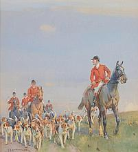 John Sanderson Wells (1872-1955) - The pack
