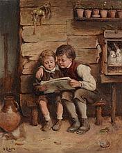 Joseph Clark (1834-1926) - Village Chums