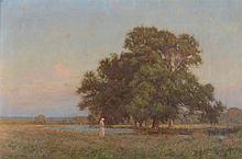 William Henry Gore (1857 -1942) - Lengthening Shadows