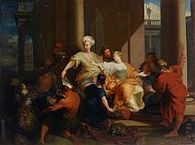 Sébastien Leclerc the Younger (1676-1763) - Achilles discovered among the daughters of Lycomedes