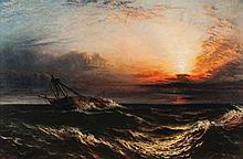 Edwin Hayes (1820-1904) - Drifting