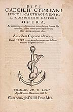 Opera, Aldine device on title, woodcut initials, 2T4 at end blank