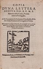 Discorso..., 24pp., woodcut printer's device on title