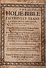 English. The Holie Bible..., translated largely by Gregory Martin, 2 vol