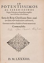 Ratio inuendae Concordiae inter Ecclesias Reformatas