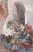 Henri Alexandre Georges Regnault  (1843-1871) - Arabian scene