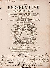 Euclid. - La Perspective...traduite en Francois,