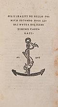 Silius Italicus. - De Bello Punico Secundo XVII Libri,