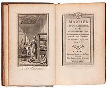 Fournier (Pierre Simon) - Manuel Typographique,