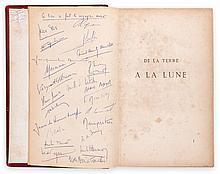 Verne (Jules) - Les Voyages Extraordinaires...De La Terre a la Lune [-Autour de la Lune],
