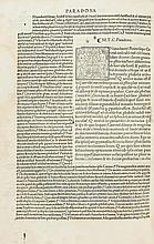 Cicero (Marcus Tullius) - de Amicicia: de Senectute & Paradoxis,