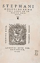 Dolet (Etienne) - De re navali liber ad Lazarvm Bayfivm,