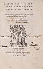 Valerius Maximus (Gaius) - Dictorum Factorumque Memorabilium Exempla,