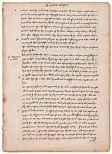 De Quatuor Novissimis , 4 ff. in 2 bifolia