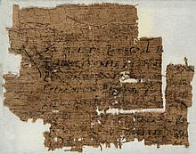 Latin text, most probably an official document, - on papyrus [Egypt or perhaps Italy, probably first century BC