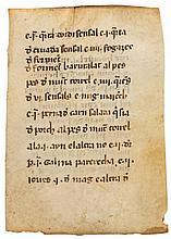 Capbreu, a list of feudal obligations, - of the Parochial Church of St. Boi de Lluçanès, Catalonia