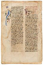 Collection of leaves from illuminated manuscripts - in Armenian, on paper [fifteenth and sixteenth/seventeenth...