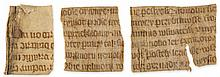 Three small fragments most probably - from the Legenda Aurea of Jacobus de Voragine in Old Czech...