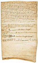 Charter of Trubadus, son of Petrus Raimundus, - recording sale of property in Canavels to John