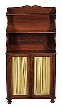 A George IV mahogany bookcase , circa 1825