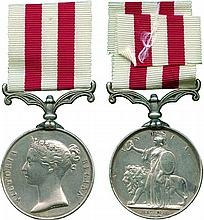 INDIAN MUTINY MEDAL, 1857-1858, no clasp ; erased and renamed in attractive...