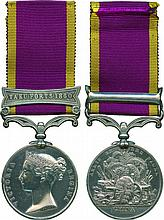 SECOND CHINA WAR MEDAL, 1857-1860, single clasp