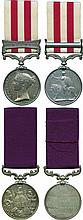 An Indian Mutiny LSGC Pair awarded to Sergeant James Morrison, 75th Foot
