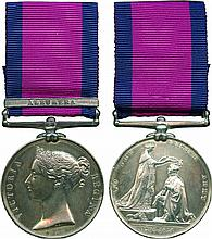 MILITARY GENERAL SERVICE MEDAL, 1793-1814, single clasp