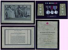 An Important King's Police Medal group of 3 awarded to Deputy...