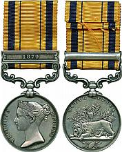 An Emotive Zulu War Casualty Medal awarded to Private John Jones, 'H' Company