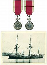 ABYSSINIA MEDAL, 1867-1868 ; reverse officially named as struck