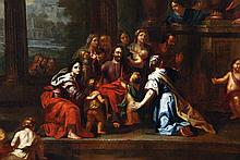 Circle of Charles le Brun, Christ blessing the