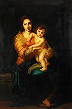 After Bartolome Esteban Murillo, Madonna and