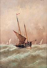Lamois (late 19th century), Fishing boats on the