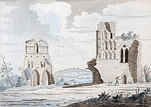 Samuel Hieronymus Grimm (1733-1794), Beeval Abbey,