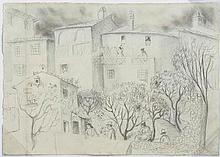 DDS Christopher Wood (1901-30), Back gardens, Nice,