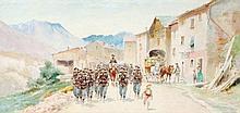 Pierre Comba (1859-1934), Chasseurs Alpine
