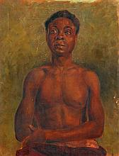 French School (19th Century), Portrait of a Negro