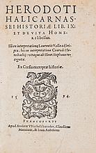 Herodotus. - Historiae Lib. IX, et de Vita Homeri libellus,