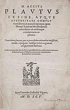 Plautus (Marcus Accius) - Opera,