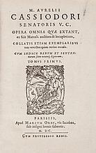 Cassiodorus (Marcus Aurelius) - Opera Omnia,
