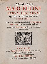 Marcellinus (Ammianus) - Rerum Gestarum...libri XVIII,