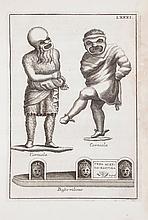Ficoroni (Francesco de') - Le Maschere Sceniche e le Figure Comiche d'Antichi Romani,