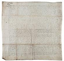 Thanet.- - Charter, grant by Alexander Norwood to Thomas Toddy of a messuage...