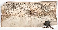 Jersey.- - [Sharing the legacy of Guy Lurent by his heirs], manuscript in French