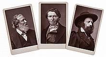 Photographic Portraits.- - Comprising 9 cartes-de-visite,