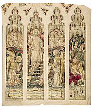 Ward (Thomas),  Hughes (Henry) Attributed to. - 10 original designs for stained glass windows,