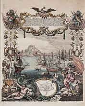 Spain.- Decker (Paul) - Gibraltar ist eine aus de Berg Calpe...,