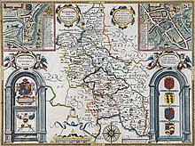 Buckinghamshire.- Speed (John) - Buckingham Both Shyre, and Shire towne desribed,