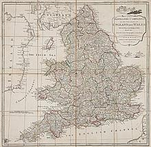 Rocque (John) - The Traveller's Companion, or the Post Roads of England and Wales,